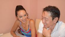 キューバのアフロダンサー、ダンサーのMakoさんとHirakataさん