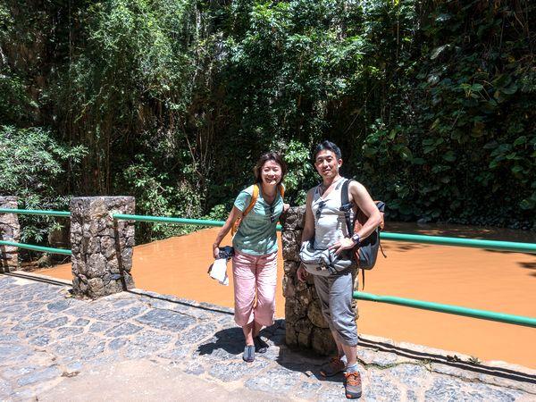 妻のともみさんと2017年4~5月に滞在。「キューバではどの仕事をしている人も互いに対等な関係であるのが印象に残りました」(ともみさん)