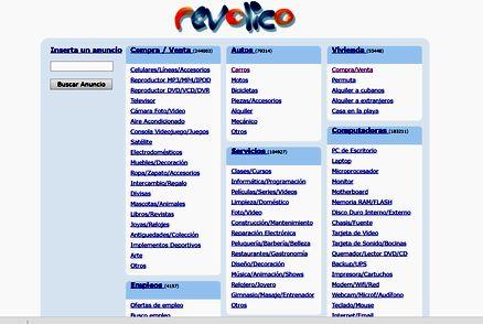 キューバのコミュニティサイト。求人広告や「売ります、買います」といった情報を掲載